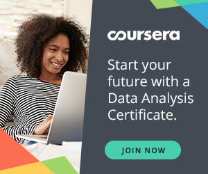 Start your future with a Data Analysis Certificate.