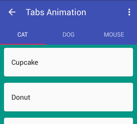 Material Design Tabs with Android Design Support Library