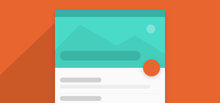 Toolbar Animation with Android Design Support Library