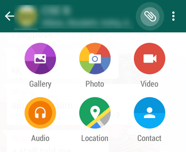 Circular Reveal Effect like WhatsApp in Android