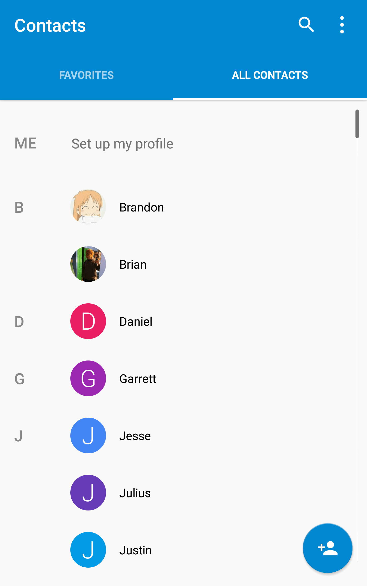 Create Gmail Style List In Android