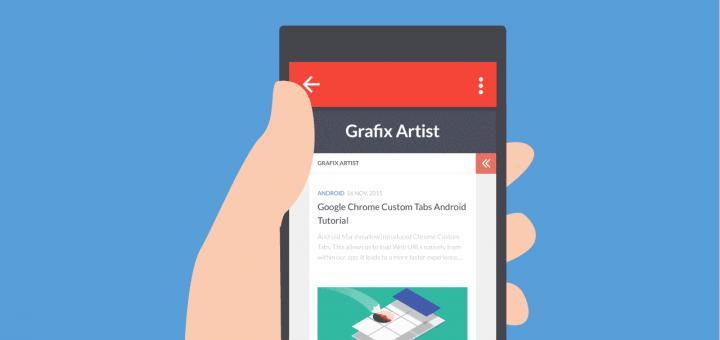 Google Chrome Custom Tabs Android Tutorial - Grafix Artist