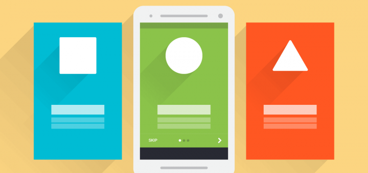 Onboarding with Android ViewPager: The Google Way