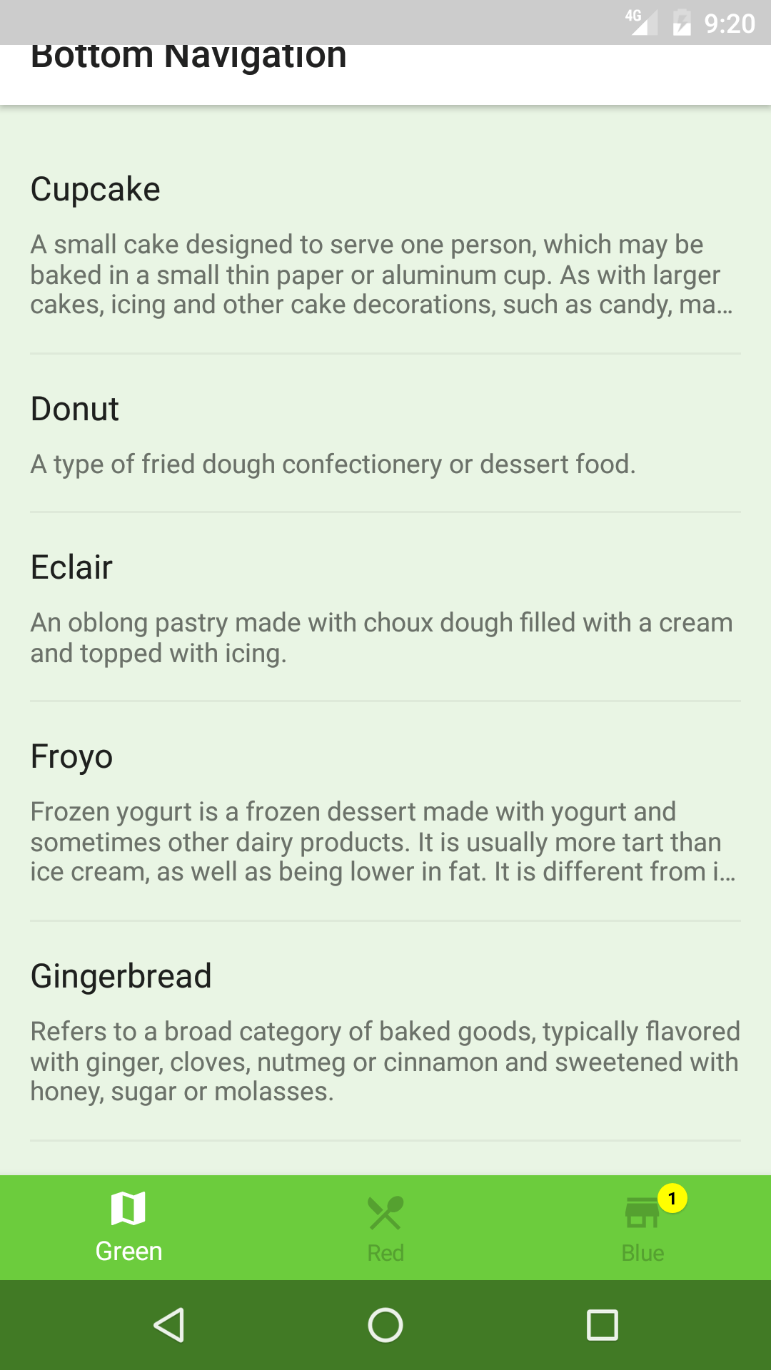 Bottom Navigation Bar with Fragments - Android Tutorial
