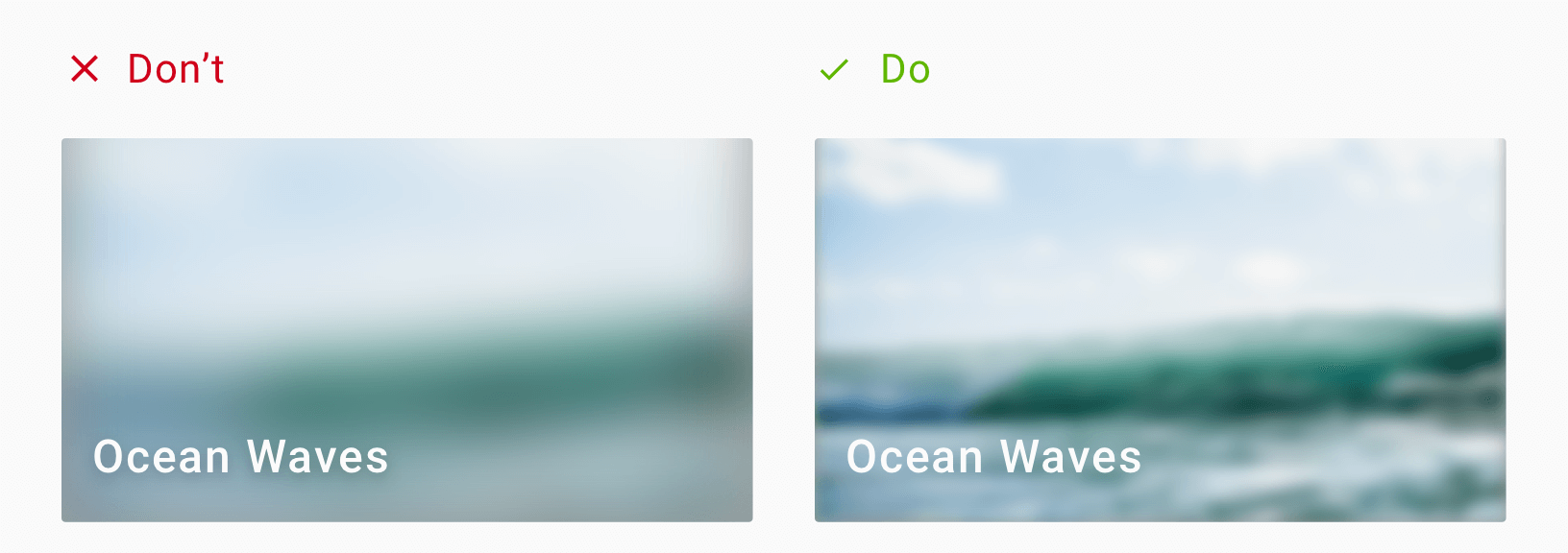 Design Techniques To Display Text Over Background Images